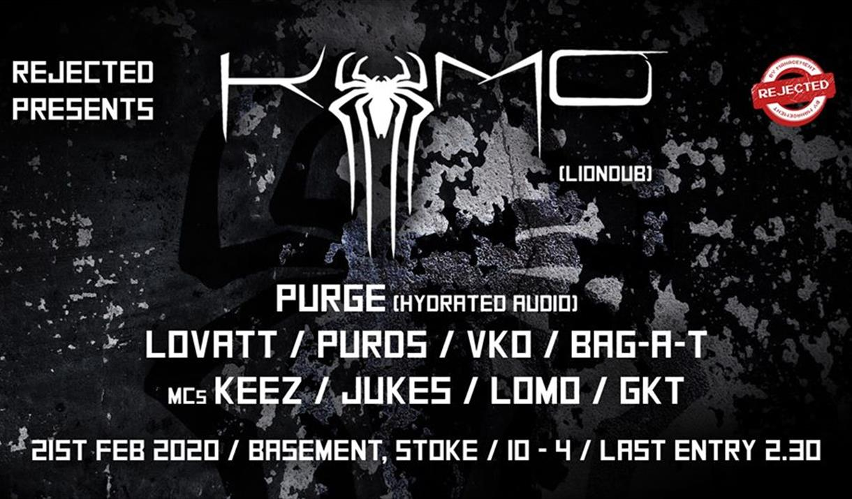Rejected Presents - Kumo / Purge at The Basement