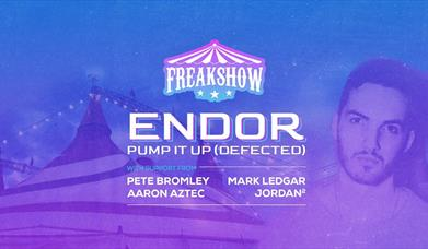 Freakshow w/Endor at The Sugarmill
