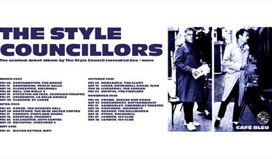 The Style Councillors - Café Bleu Tour